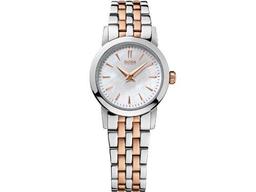 Hugo Boss Damen-Armbanduhr Analog Quarz Edelstahl 1502344