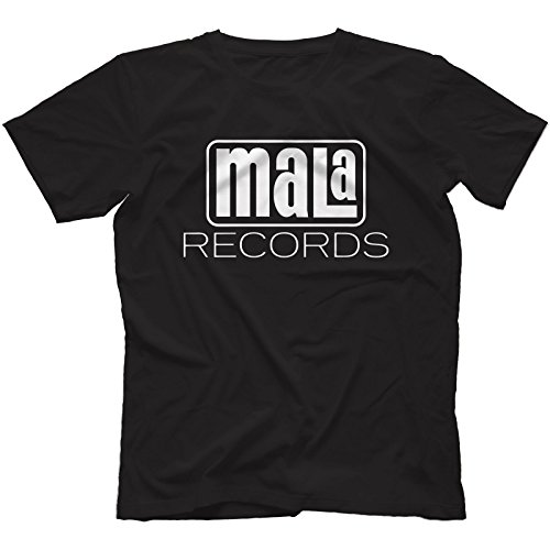Mala Records T-Shirt Uomo Nero
