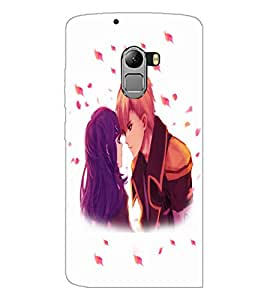 PrintDhaba Couple D-4700 Back Case Cover for LENOVO K4 NOTE A7010a48 (Multi-Coloured)