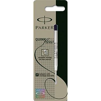 Parker Quinkflow Ball Pen Refill Fine Blister Pack Black