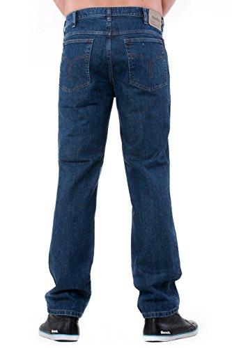 Revils -  Jeans  - Straight  - Uomo indigo stone washed