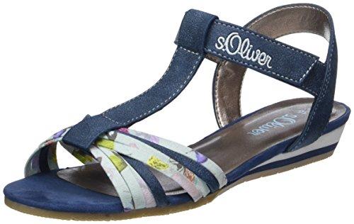 s.Oliver Mädchen 58215 T-Spange, Blau (Navy Comb 891), 36 EU