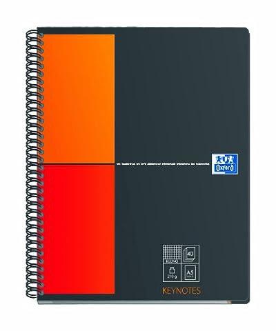 Oxford 357001161 Bloc Registercollegeblock Keynotes quadrillé A5 (Import Allemagne)