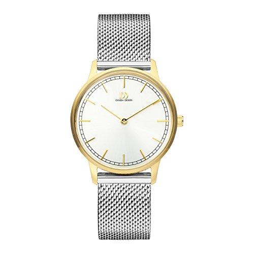 Danish Design Reloj Analógico para Mujer de Cuarzo con Correa en Acero Inoxidable IV65Q1249