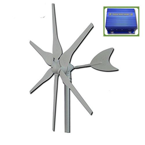 GOWE-12-V24-V-generador-de-viento-300-W-horizontal-axis-generador-elico-start-up-velocidad-2-mS-molinillo-de-viento-windsolar-hybrid-controlador