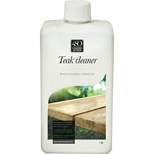 4seasons teck Produit nettoyant pour bois dur Teck pour nettoyant à base d'eau