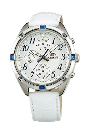 Orient Modische Chronograph Quarz Damen-Armbanduhr uy04006W