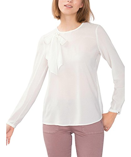 ESPRIT 096EE1F027, Camicia Donna, Bianco (OFF WHITE), 40