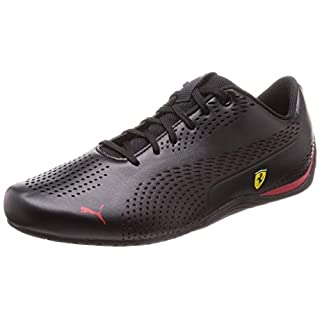 PUMA Ferrari Drift Cat 5 Ultra II Sneaker Puma Black-Rosso Corsa 10