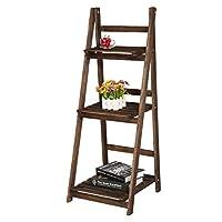 MultiWare Ladder Bookshelf Bookcase Leaning Storage Shelf Unit