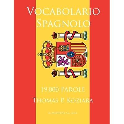 Vocabolario Spagnolo