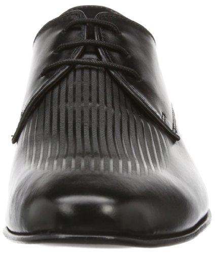 Manz - Eros, Scarpe stringate Uomo Nero (Schwarz (schwarz 001))