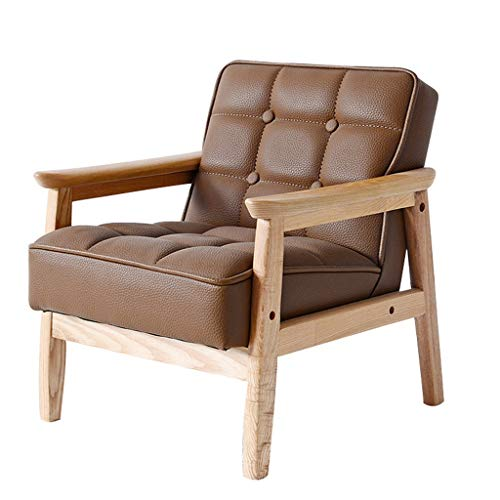 Canapés pour Enfant Fauteuils Rembourrés pour Enfants Childs Chair Toddler Fauteuil Garçons Chambre Meubles (Color : Brown, Size : 15.35 * 16.54 * 16.93in)