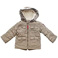 Get Wivvit Boys Baby Toddler Bears 1986 Motif Fishtail Back Parka Coat Sizes from Newborn to 24 Months