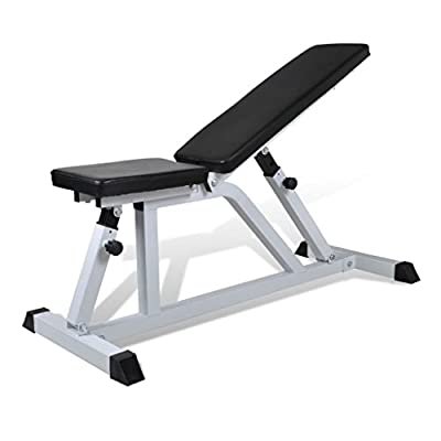 Fitness Workout Bench Weight Bench from vidaXL