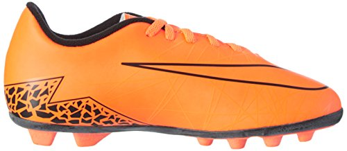 Nike Jr Hypervenom Phade Ii Fg-R, Chaussures de Football Garçon Total Orange/Black