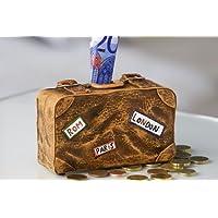 Preisvergleich für Spardose Koffer Urlaubskasse Figur Urlaub Sparschwein