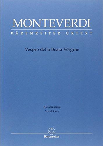 Vespro della Beata Vergine | Monteverdi, Claudio (1567-1643)