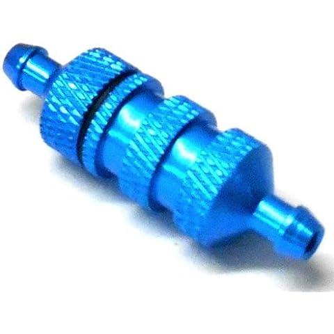 02156 Alluminio Filtro Carburante - Per Tutti I Modelli - Blu