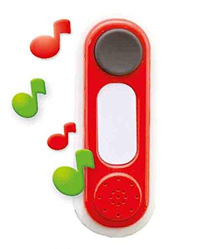 Smoby 810900 Elektronische Türklingel, Zubehör für Spielhaus, Rot, Norme