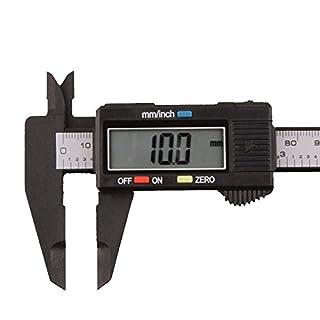 150mm / 6 inch Digital Calipers LCD Electronic Carbon Fiber Vernier Caliper Gauge Micrometer Measuring Ruler Tool