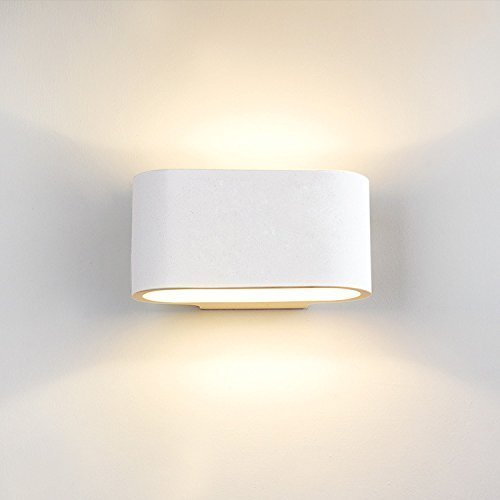 DECKEY-Wall-Light-Indoor-LED-Up-and-Down-Lamp-Uplighter-Downlighter-3w-Warm-White