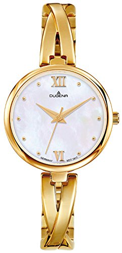 Dugena Women's Analogue Quartz Watch with Stainless Steel Strap 4460669