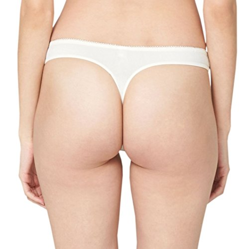 s.Oliver Damen String 96.899.97.5798 Elfenbein (off white 0120)