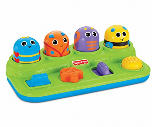 Mattel V2759 - Fisher-Price Boppin' Activity Bugs, Motorikspielzeug