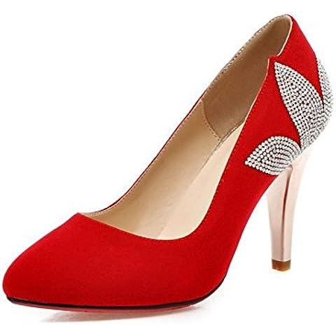 Scarpe moda/Dolce sposa strass rosso scarpe/Scarpe da