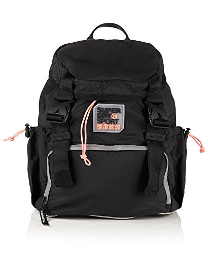 Superdry Mujer Niñas Super deporte mochila, bolsa de viaje, mochila escolar