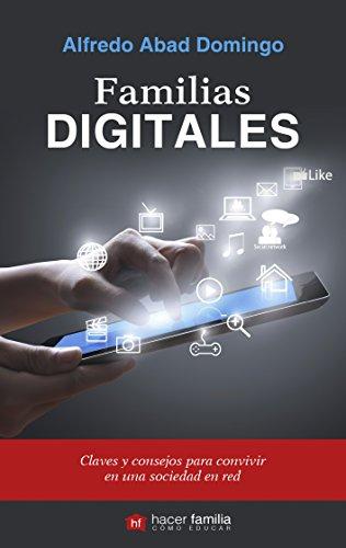 Portada del libro Familias digitales (Hacer Familia)
