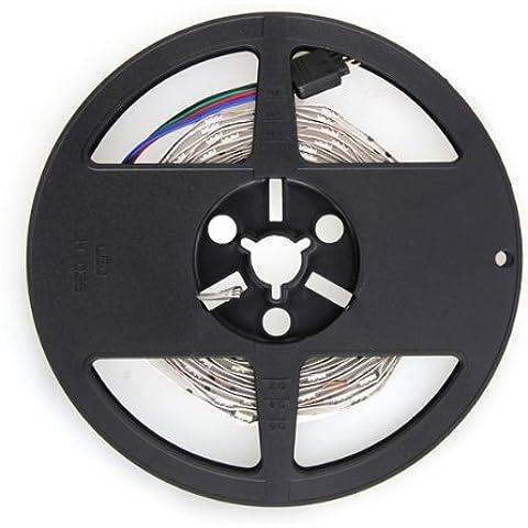3M Tira 90 5050 SMD LED RGB + Remoto de 24 Teclas Set Cadena Hilo