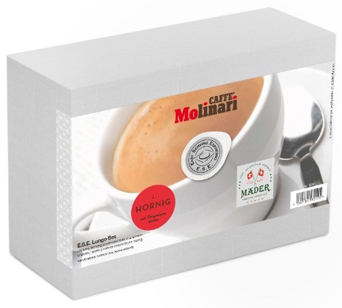 Kaffee Probierset 'ESE Lungo', 24 ESE Kaffeepads / ESE Pads / Pods / Cialde, 168 g