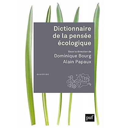 Dictionnaire de la pensée écologique (Quadrige dicos poche)