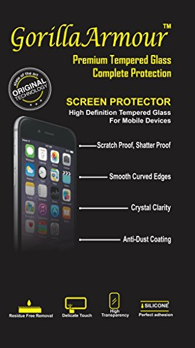 Gorilla Armour Impossible Anti-Shock Guard for : Oppo Camera Phone F1S | Flexible & Anti-Shock | 80% Stronger than Traditional Glass Type Tempered | Compatible For: Oppo Camera Phone F1S