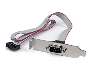 StarTech.com PLATE9M16LP Plaque série faible encombrement 16pouces