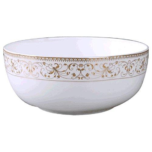 Fenfatuqiang Geschirr Suppenschüssel Keramik Instant Nudelschüssel Salatschüssel Bone China Rindfleisch Nudelschüssel Home Surface Bowl