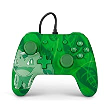 Wired Officially Licensed Controller For Nintendo Switch - Bulbasaur