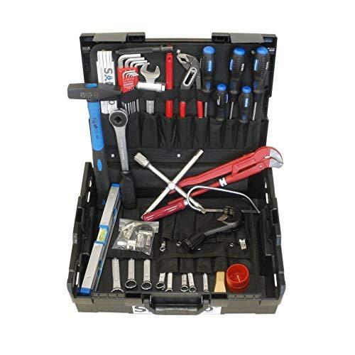 """L-BOXX Werkzeugkoffer\""""Starter-Set Installateur\"""" 20 tlg. für Lehrlinge/Gesellen"""