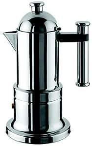 Vev Vigano 8194 Kontessa Inox 4-cup Coffee Pot by VEV