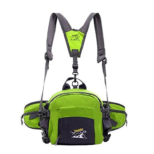 Weitere kinetische Energie vier mit ein paar Außensporttaschen Taschen Reiten c