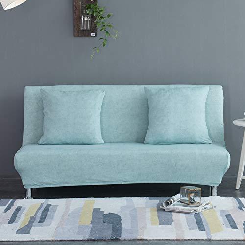 Monba - Funda de sofá Cama con patrón de Lino, Plegable, sin...