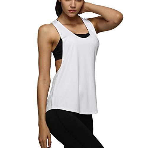 Camiseta Tirantes sin Mangas Deporte Mujer Verano
