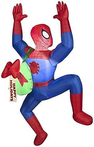 Weihnachten Decor Airblown aufblasbare 5Klettern Spiderman