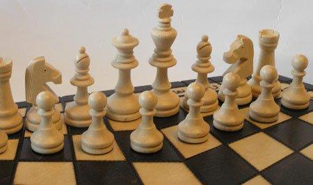 ChessEbook-Schachspiel-fr-Drei-54-x-47-cm-Holz