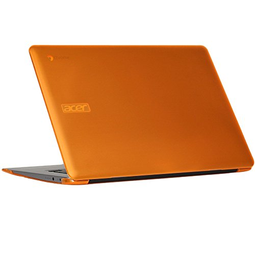 mCover Hard Shell Case für 39,6cm Acer Chromebook 15CB515Serie (Nicht kompatibel mit älteren C910/CB5-571/CB3-531Serie) Laptop Orange 15.6