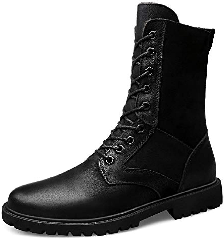 Stivali a metà Polpaccio da Uomo Casual Casual Casual Nuovo Stile Outdoor Impermeabile Antivento Stivali Militari Scarpe da... fa728b