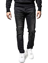 883 Police Mens Designer Moriarty LA 463 Denim Jeans 5bbf23c68
