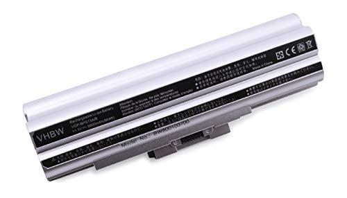 vhbw Li-ION Batterie 8800mAh (11.1V) Argent pour Ordinateur Portable, Notebook Sony Vaio VGN-AW290JFQ, VGN-AW31M/H comme VGP-BPL13.
